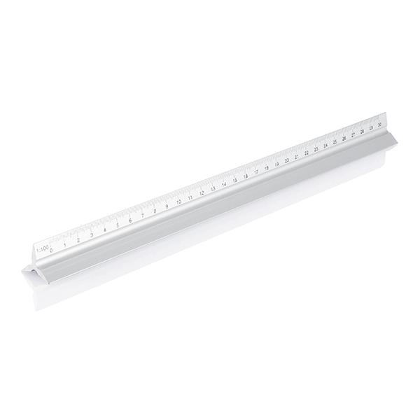INP165132 Scalimetro in alluminio,30cm 2