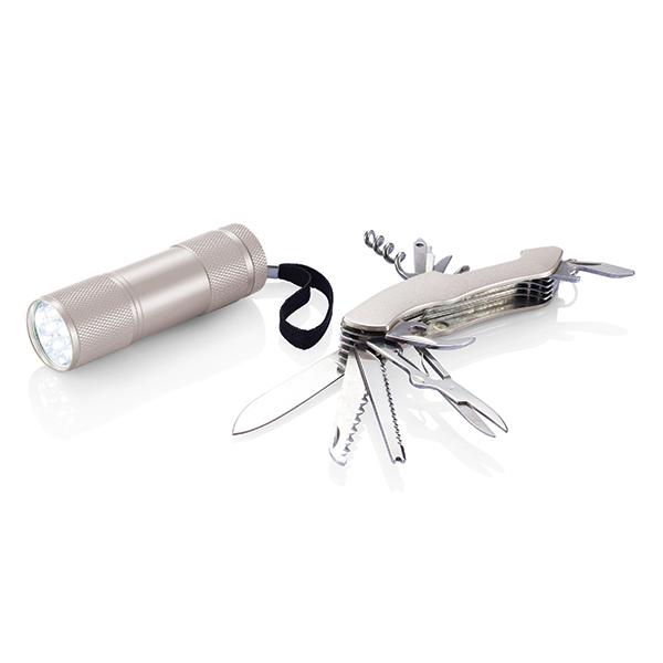 INP221192 Set outdoor Quattro, argento