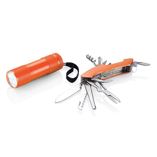INP221198 Set outdoor Quattro, arancione