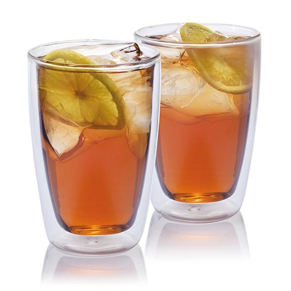 INP262660 Set 2 bicchieri da tè in vetro