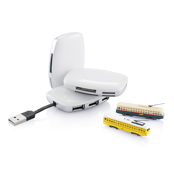 INP308103 Hub USB e lettore i schede