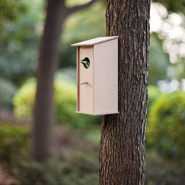 INP416779 Casetta in legno per uccelli