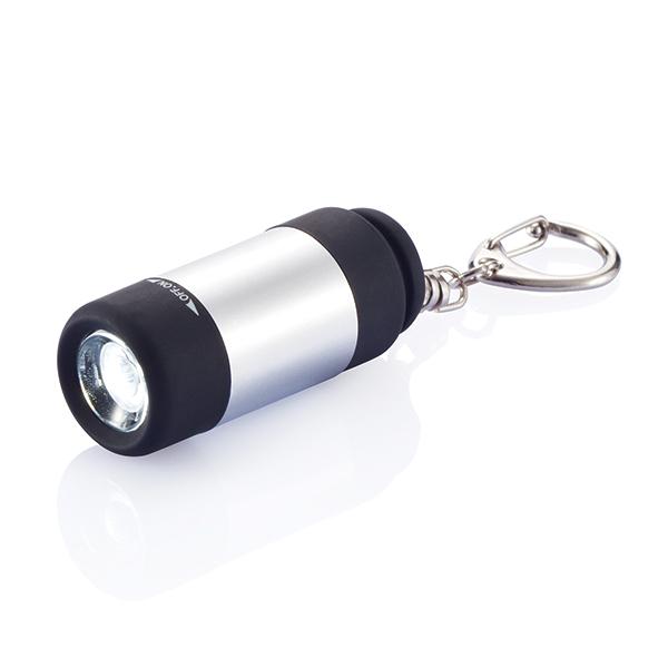 INP510312 Torcia LED ricaricabile con portachiavi